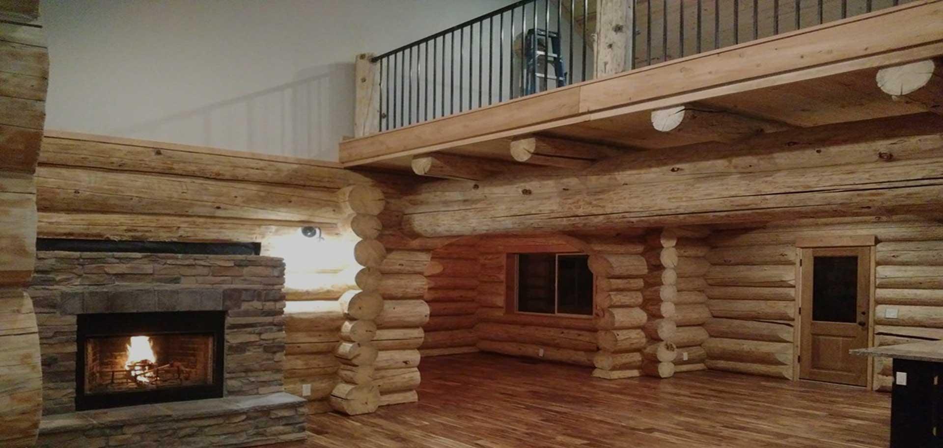 Custom Log Home Builder: Elk Ridge, UT: Caribou Log Homes LLC